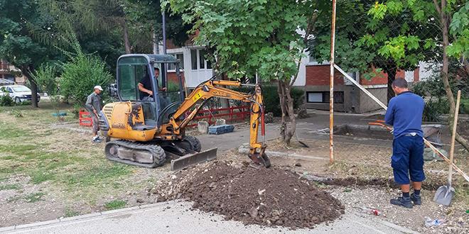 Сређивање јавне расвете у насељу Влачић