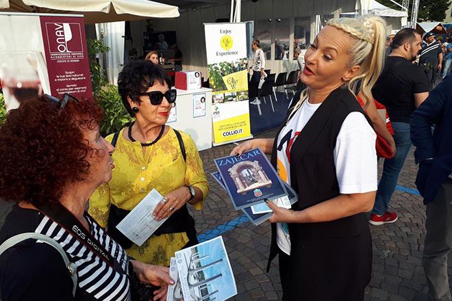 """Туристичка организација града Зајечара — Сајам """"Gusti di frontiera"""" у Италији"""