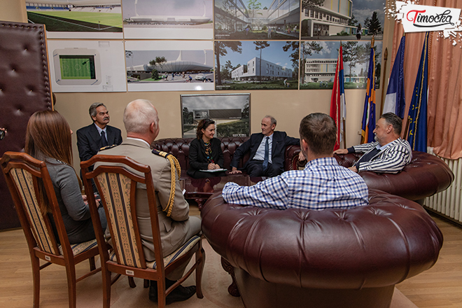 Prijem u Gradskoj upravi za predstavnike Ambasade Francuske u Srbiji