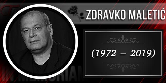 In Memoriam — Zdravko Maletić (1972–2019)