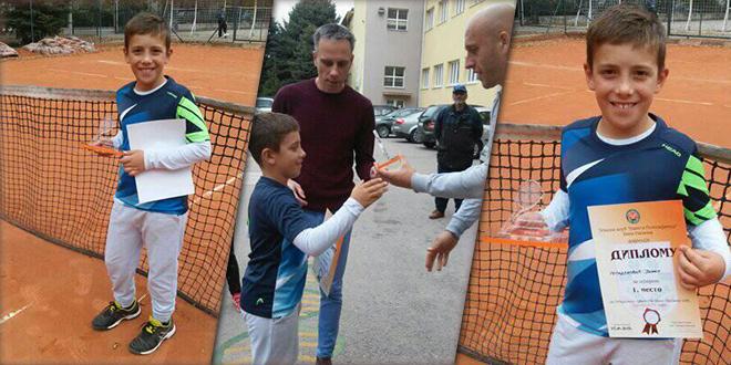 Јанко Младеновић — Отворено првенство Беле Паланке у тенису