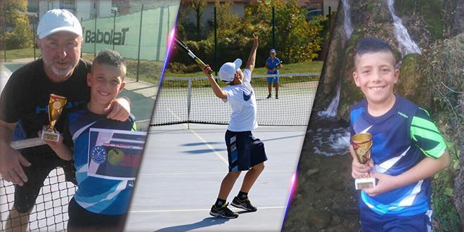 Janko Mladenović — Teniski turnir narandžastog nivoa u Dimitrovgradu