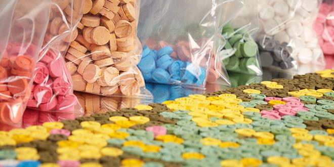 MDMA, ekstazi pilule