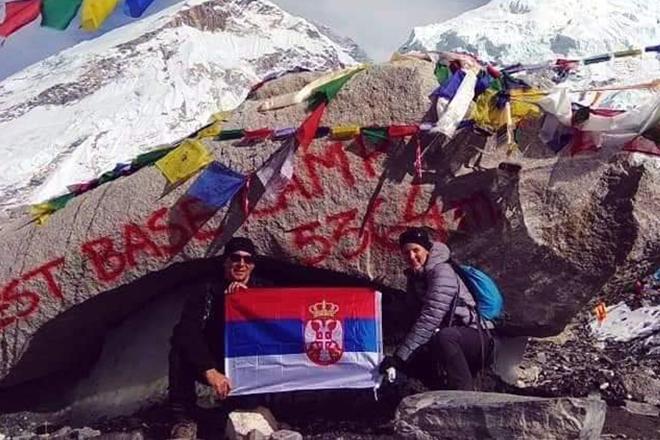 "PSD ""Ljuba Nešić"" Zaječar — Žika Branković na Himalajima"