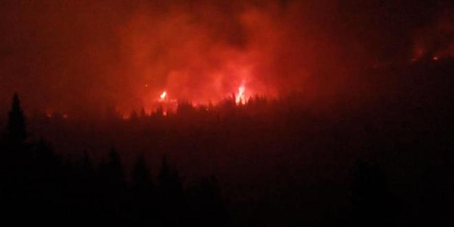 Požar na Staroj planini