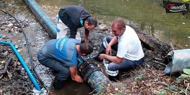 Радови на водоводној мрежи — Тупижница