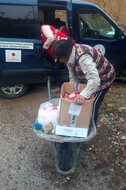 Crveni krst Zaječar — Pomoć ugroženoj porodici iz Velikog Izvora