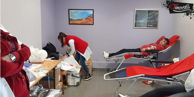 Dve akcije dobrovoljnog davanja krvi u Zaječaru