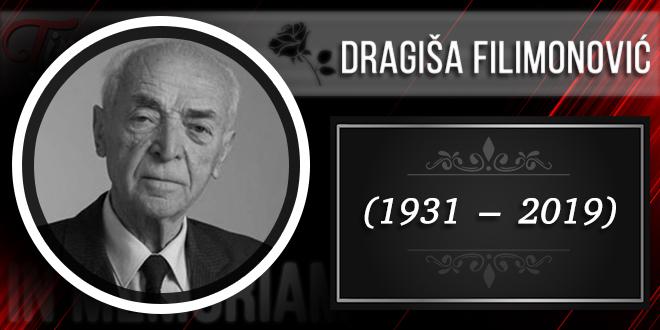 In Memoriam — Doktor Dragiša Filimonović (1931–2019)