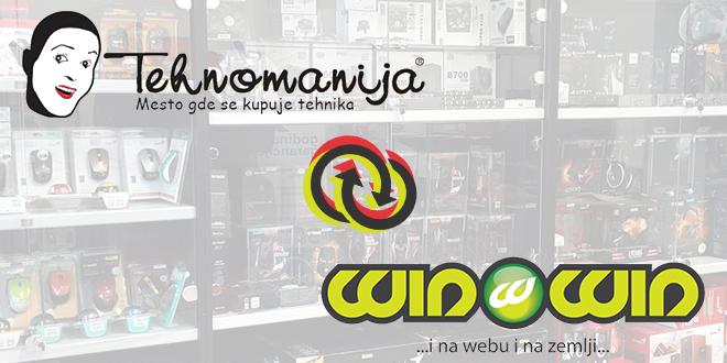 """Интеграција компанија """"Техноманија"""" и """"Win Win"""""""