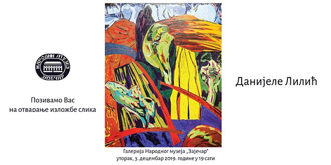 Izložba slika Danijele Lilić u Zaječaru
