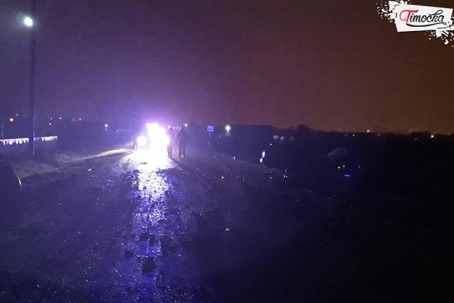 Saobraćajna nezgoda na putu Zaječar–Zvezdan