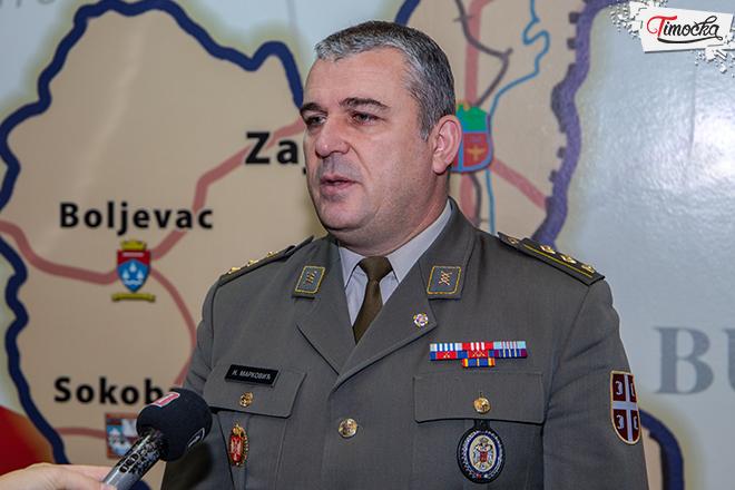 Pukovnik Nenad Marković — načelnik Regionalnog centra Ministarstva odbrane Niš