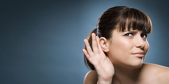 Жена има проблема са слухом