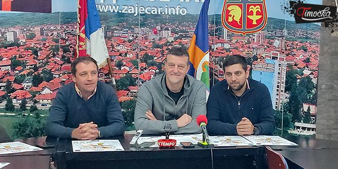 29. Novogodišnji turnir u malom fudbalu u Zaječaru — Pres-konferencija