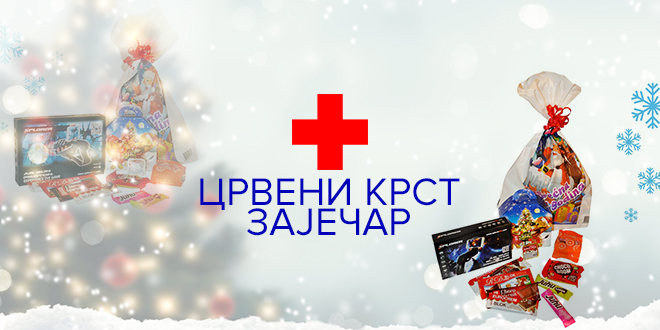 """Crveni krst Zaječar — """"Jedan paketić – puno ljubavi"""""""