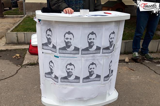 Građanska inicijativa za potpisivanje peticije za oslobađanje Aleksandra Obradovića iz pritvora
