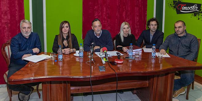 Gradonačelnik Zaječara Boško Ničić — Konferencija za medije