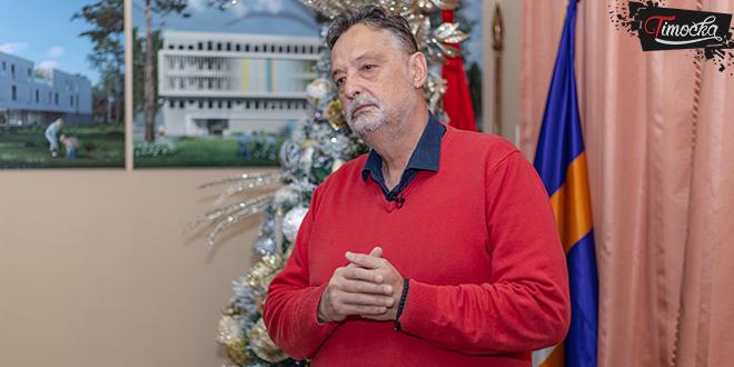 Gradonačelnik Zaječara Boško Ničić — Novogodišnja čestitka
