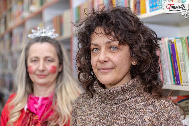 Suzana Marinković — bibliotekar Dečijeg odeljenja biblioteke u Zaječaru