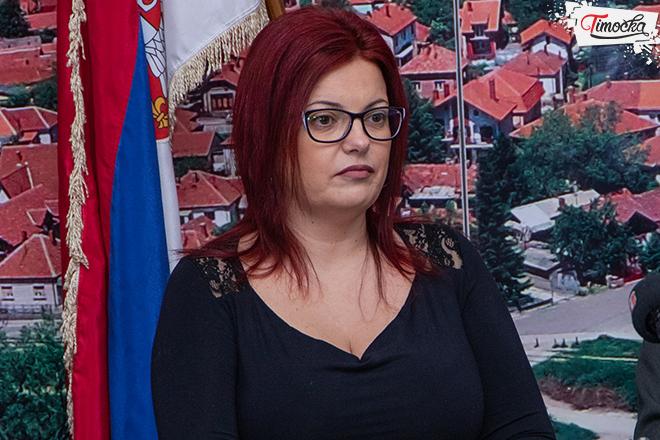 Marina Milić — zamenica gradonačelnika grada Zaječara