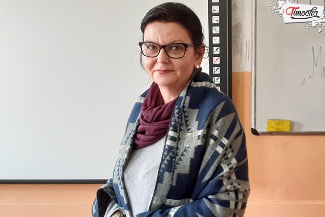 Marina Ilić — pedagog Ekonomske-trgovinske škole