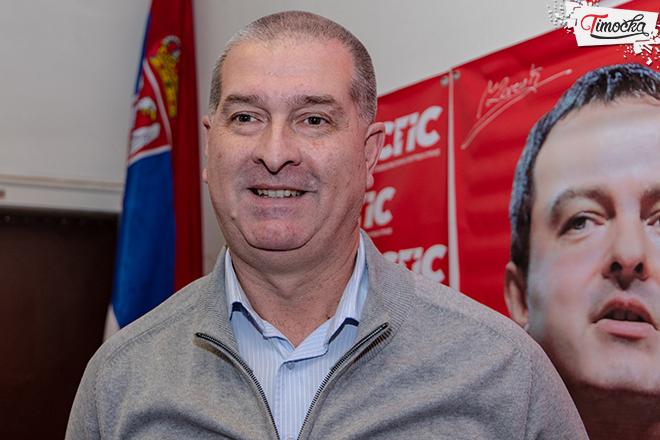 др Мирко Николић, председник ГО СПС-а Зајечар
