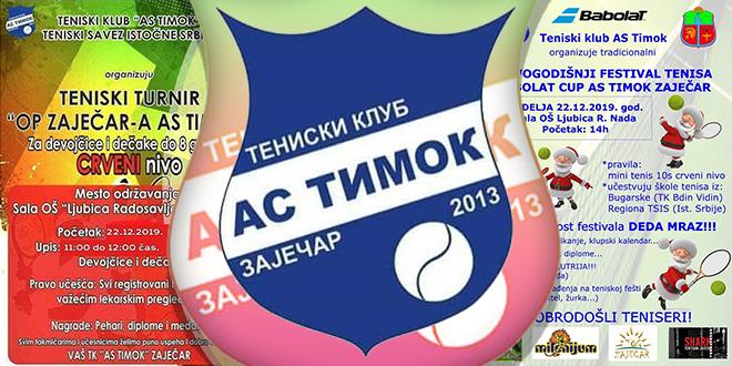 "TK ""AS Timok"" Zaječar — Dva teniska turnira"