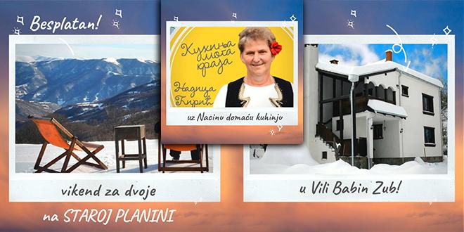 """Visit East Serbia"" — Besplatan vikend za dvoje na staroj planini"