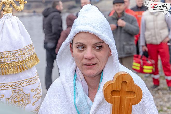 Ivana Milojković — pobednica plivanja za Časni krst u Zaječaru