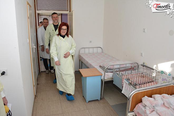 Gradska uprava u poseti porodilištu