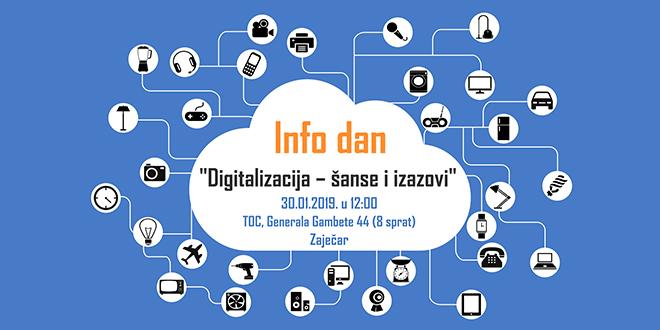 """Info dan """"Digitalizacija – šansa i izazovi"""" u Zaječaru"""