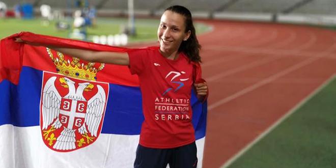 Iva Maletić — Bronzana medalja na atletskom mitingu u Sloveniji