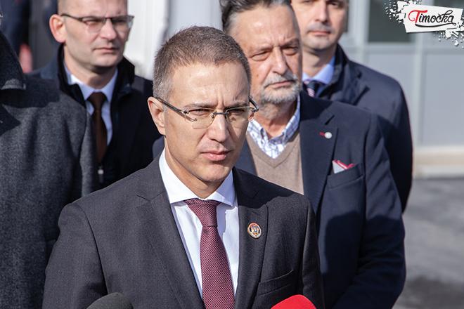 dr Nebojša Stefanović — potpredsednik Vlade Republike Srbije i ministar unutrašnjih poslova