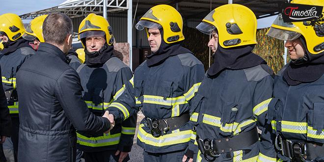 Otvaranje novog Vatrogasnog doma u Zaječaru — Poseta ministra Nebojše Stefanovića
