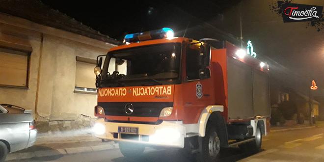 Požar u ulici Nikole Pašića u Zaječaru