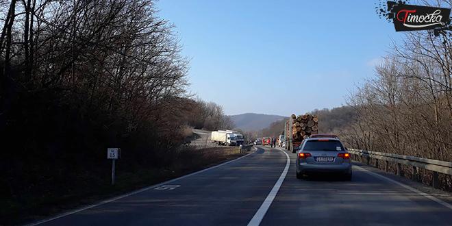 Saobraćajna nezgoda kod Gamzigradske Banje