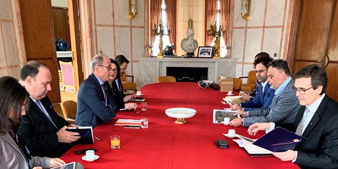 Gradska uprava Zaječar — Radni sastanak u ambasadi Republike Francuske
