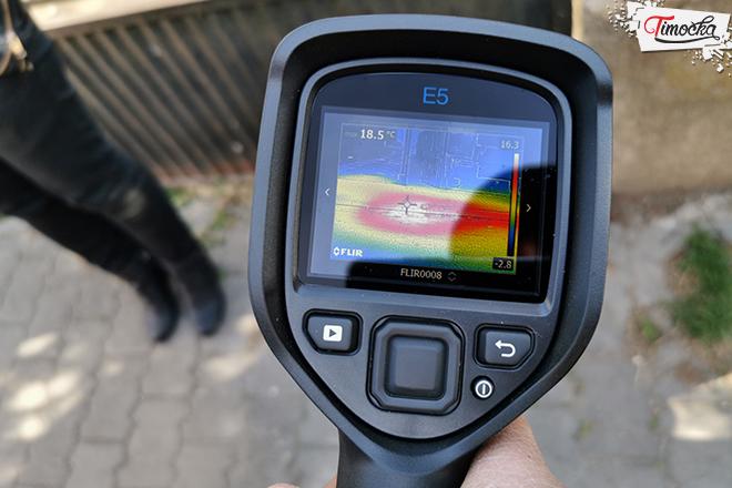 """JKSP """"Zaječar"""" — Demonstracija rade termografske kamere"""