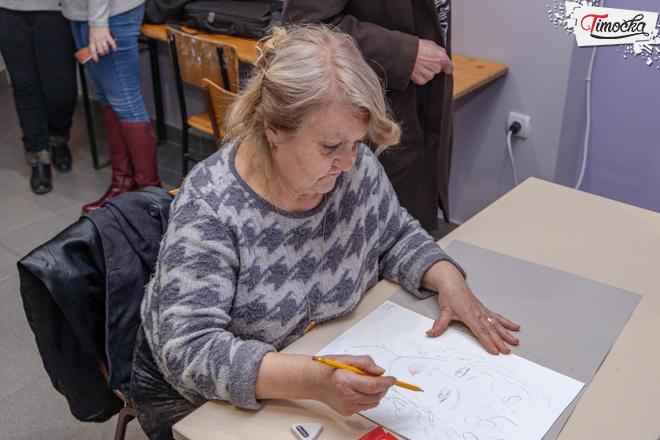 Klub starih 65+ Zaječar — Likovna radionica
