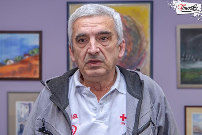 Predrag Kocić — volonter Crvenog krsta Zaječar