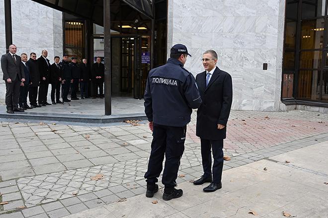 Ministar Nebojša Stefanović — Otvaranje nove zgrade Policijske stanice Negotin