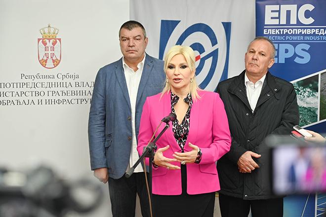 prof. dr Zorana Mihajlović — potpredsednica Vlade Srbije i ministarka građevinarstva, saobraćaja i infrastrukture