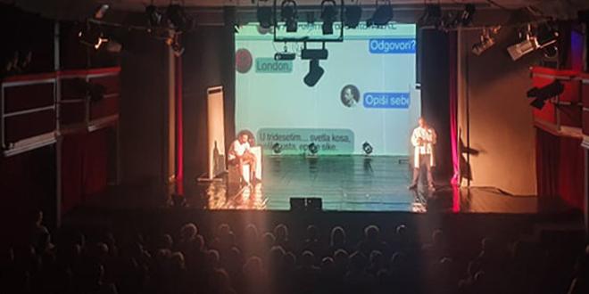 "Predstava ""Bliskost"" na 15. festivalu ""Virovitičke kazališne svečanosti – VIRKAS"" u Virovitici"