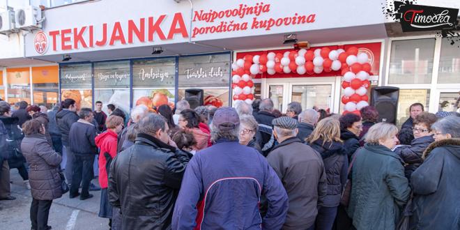 """Trgovina """"Tekijanka"""" Kladovo — Otvaranje nove prodavnice u Zaječaru"""