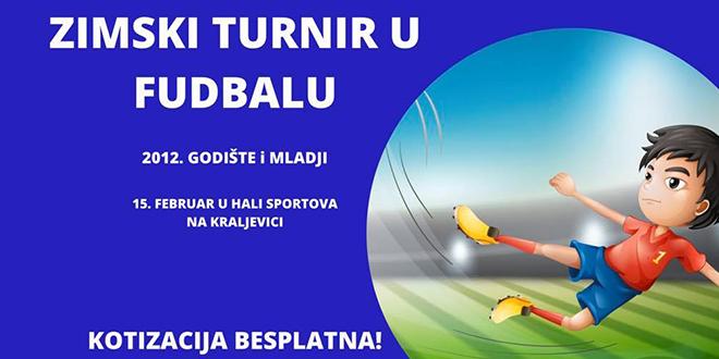 """Zimski turnir u fudbalu za decu """"Zaječar 2020"""" u Zaječaru"""