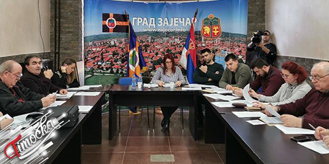 131. седница Градског већа града Зајечара