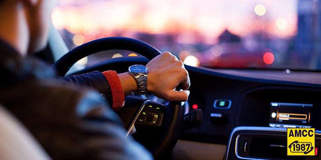 AMSS — Muškarac vozi automobil