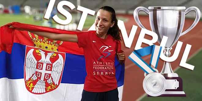 Atletičarka Iva Maletić — Srebro na Međunarodnom atletskom takmičenju u Istanbulu