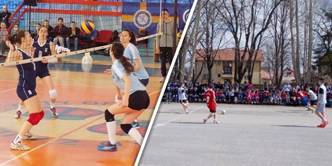 Градска такмичења у одбојци и футсалу у Зајечару